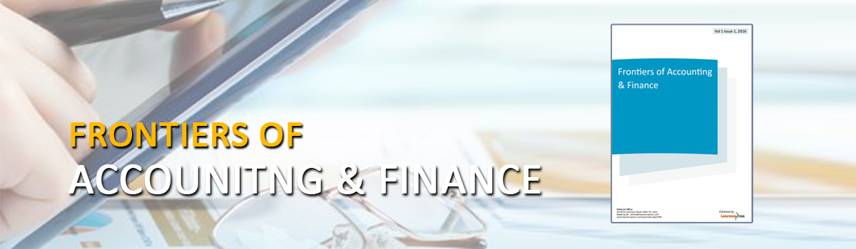 Frontiers of Accounting and Finance